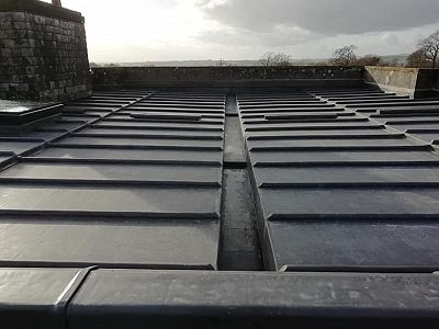 Lead Roof on Listed Manor House
