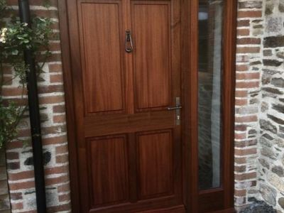 Custom Wooden Front Doors