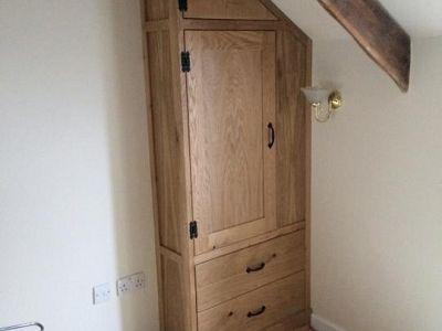 Oak Built In Wardrobe