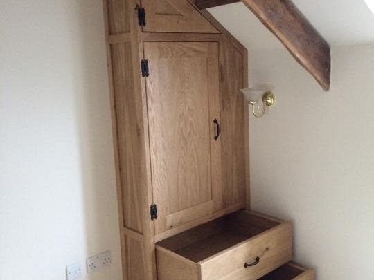Oak Built In Wardrobe